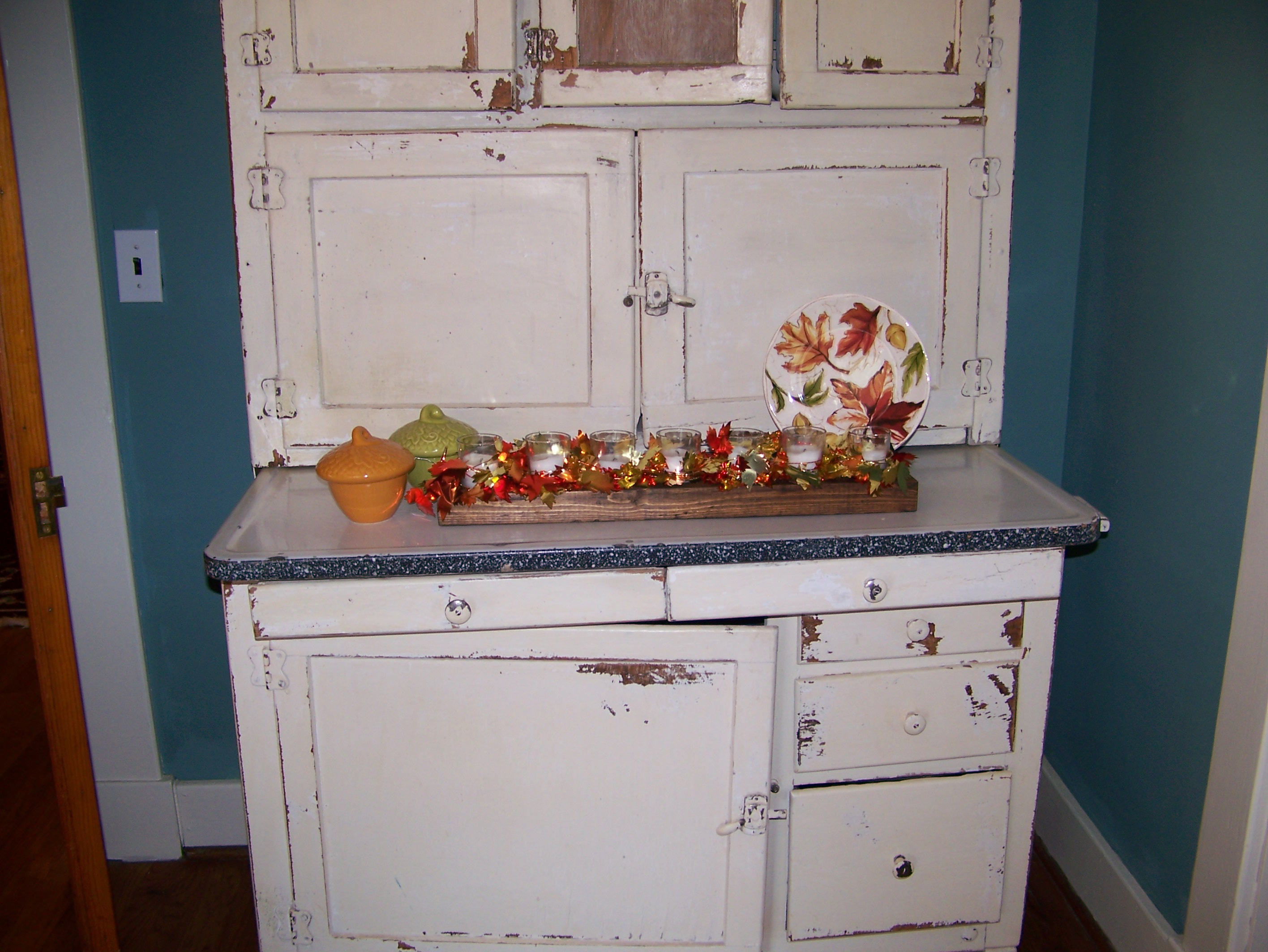 Or Buffet Vignettes But Infected Inspired By All Of Your Wonderful Fall Decorating Blogs Out There I Made A Few Autumn Changes In The Dining Room