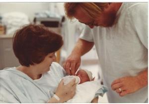David, Bev, & Russell family portrait