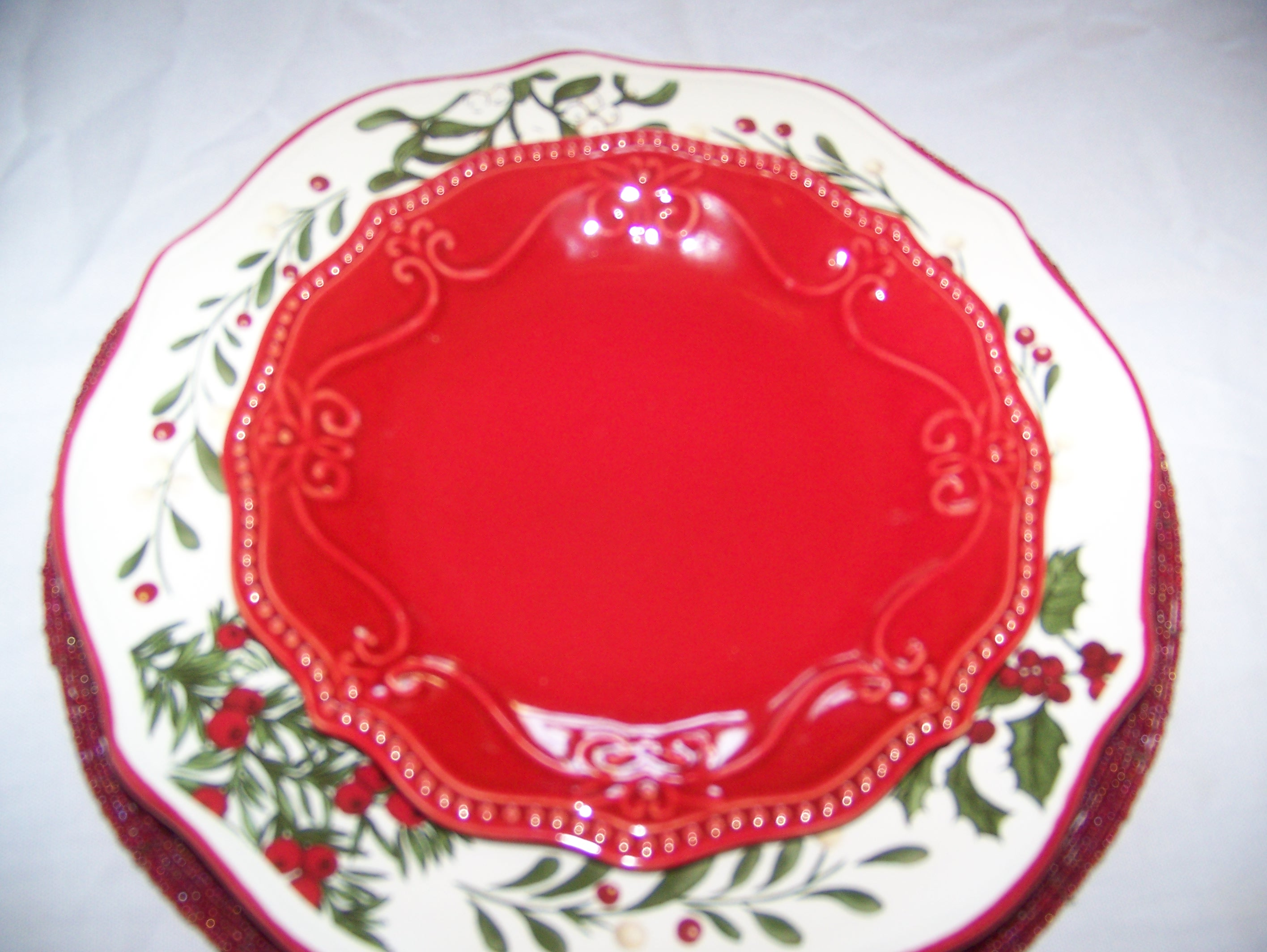 laurie gates christmas dishes